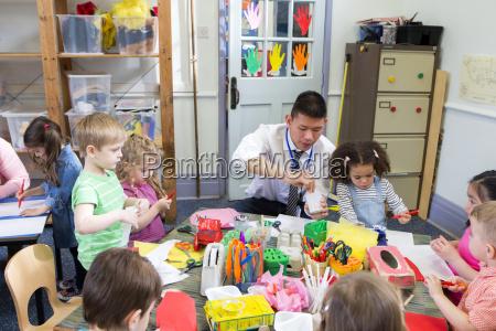 craft time at nursery