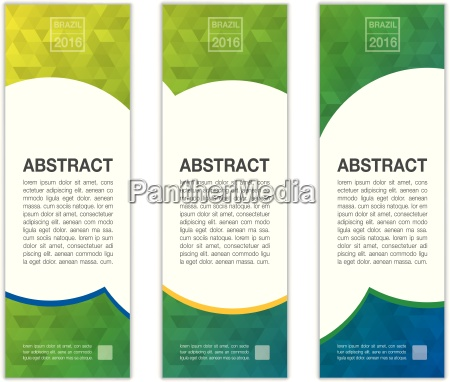 abstract banner background in colors of