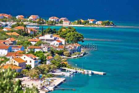 island of ugljan scenic coast and