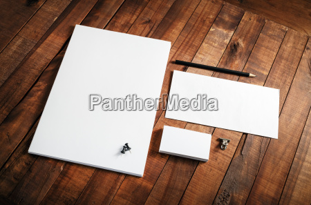 blank stationery template