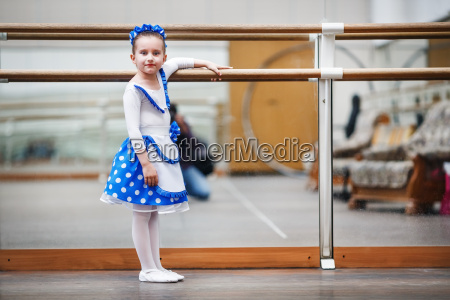 child girl ballerina