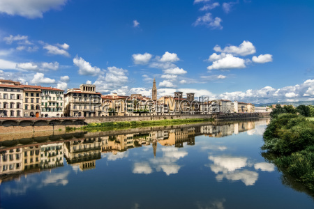 italy tuscany florence old town and