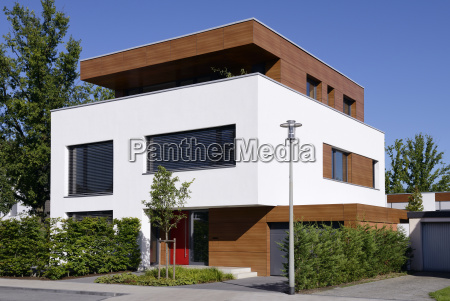 germany modern detached one family house