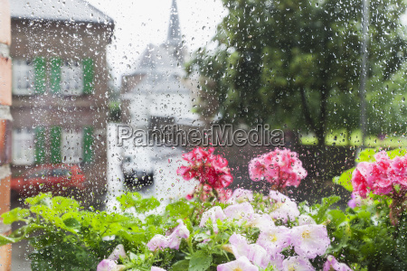germany cologne heavy rain in summer