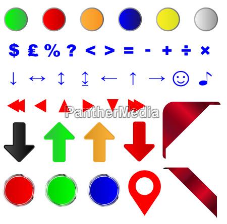 web icon button builder
