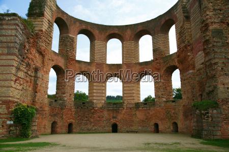 germany rhineland palatinate treves ruins of