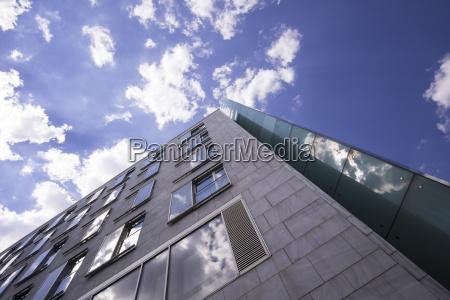germany berlin part of facade of