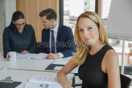 portrait of confident businesswoman in a