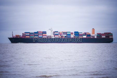 germany near cuxhaven north sea loaded
