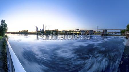 germany hesse grosskrotzenburg power station and