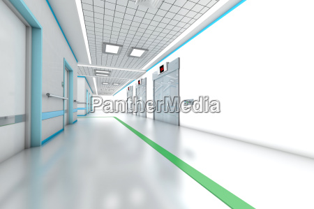 3d rendered illustration architecture visualization of