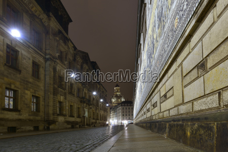 germany saxony dresden old town at