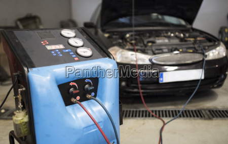 air conditioning cars filling machine