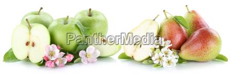apple and pear apple pear fruit