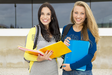 teenage students