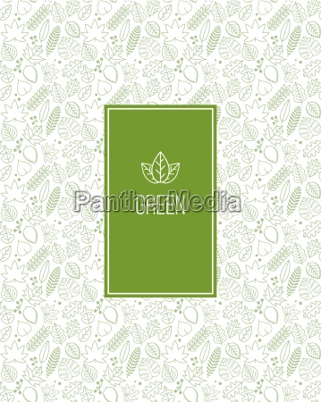vector seamless pattern design with various