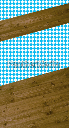 bavarian background wood blue white
