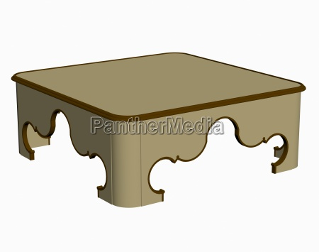 coffee table exempted