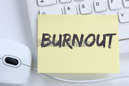 burnout sick illness in job stress