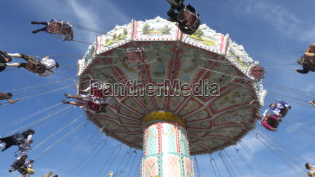 wave swinger on oktoberfest munich bavaria