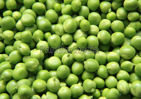 fresh from the market peas