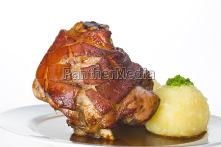 bavarian pork with dumplings