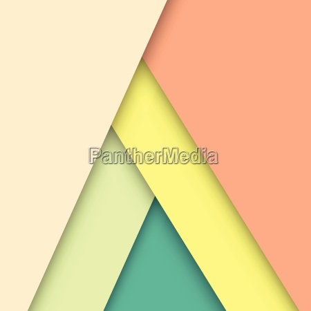 pastel material design with shadow stock