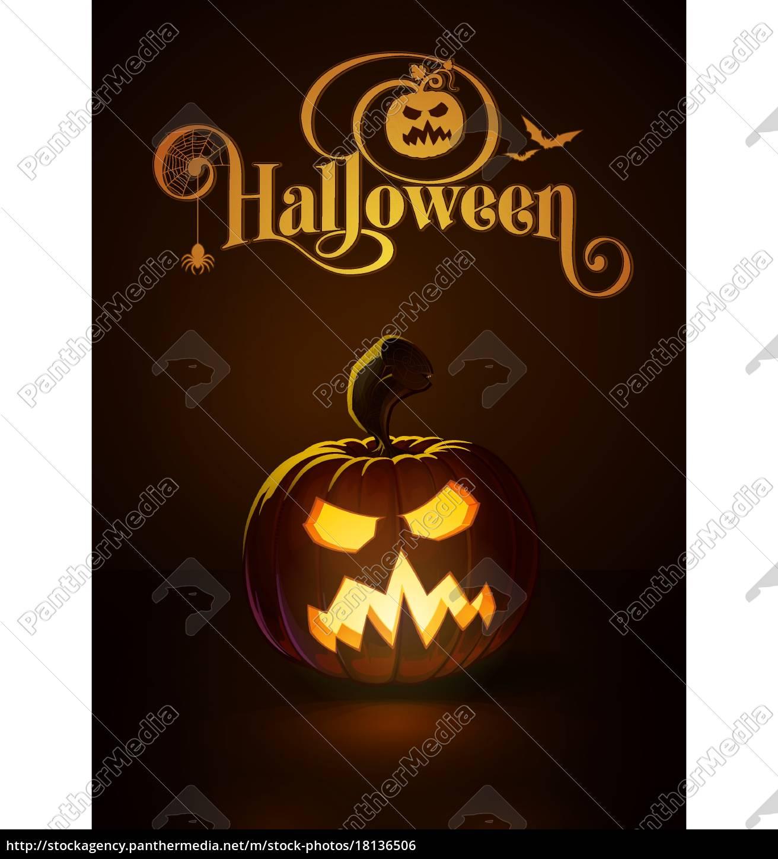 Jack O Lantern Dark Angry Scary Royalty Free Image 18136506 Panthermedia Stock Agency