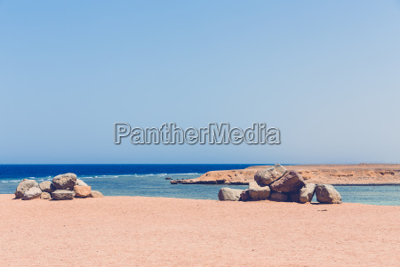 red sea coastline egypt