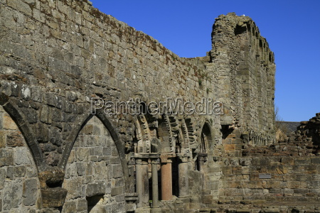 ruin of st andrews cathedral scotland