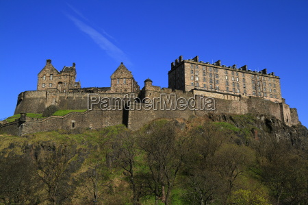 edinburgh castle scotland united kingdom