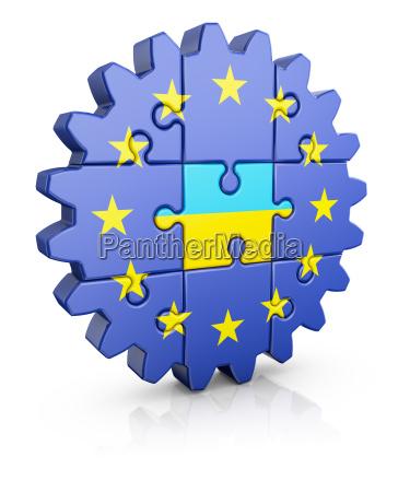 puzzle eu and ukrainian