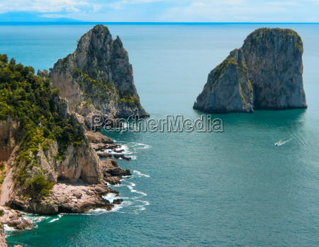 view from a cliff on the