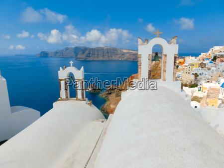 oia santorini greece june 10
