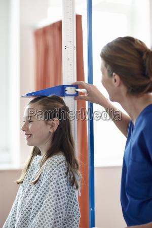 medico mujer azul medicinal femenino hospital