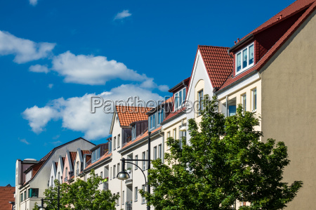 buildings in the city of rostock