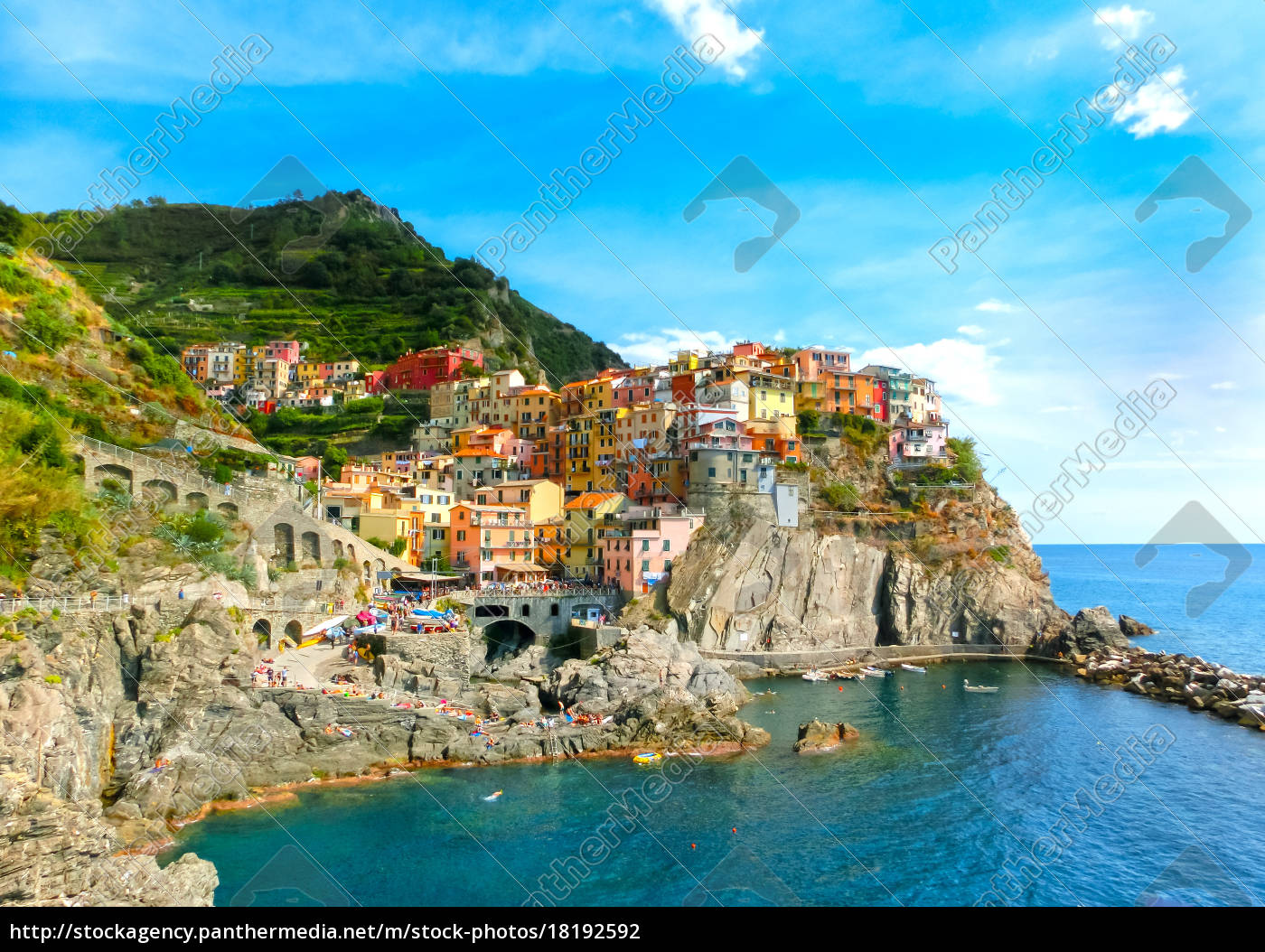 colorful, traditional, houses, on, a, rock - 18192592