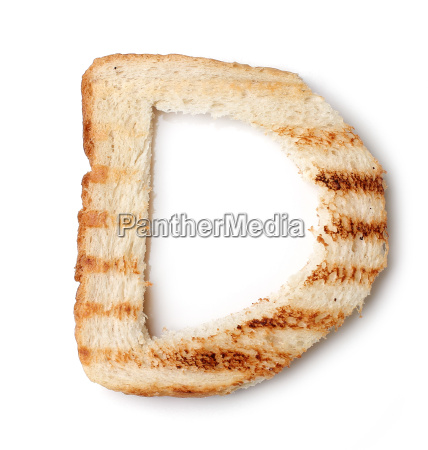 bread letters