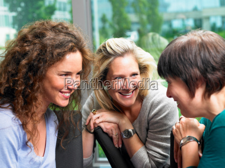 women in a deep conversation