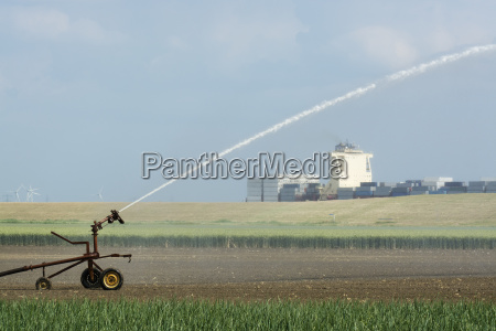 plant crop irrigation due to prolonged