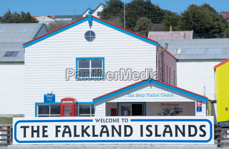colourful falklands architecture stanley falkland islands