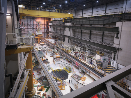 reactor hall in nuclear power station