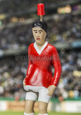 digitally generated image of soccer player