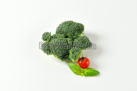 fresh head of broccoli