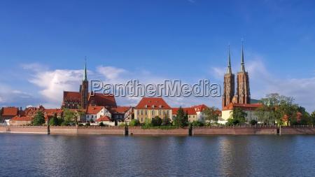 wroclaw cathedral island wroclaw the