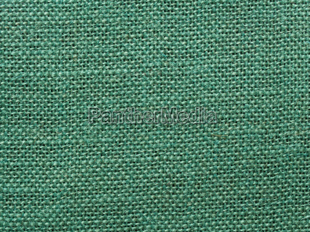 green burlap fabric texture background