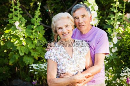portrait of mature couple in