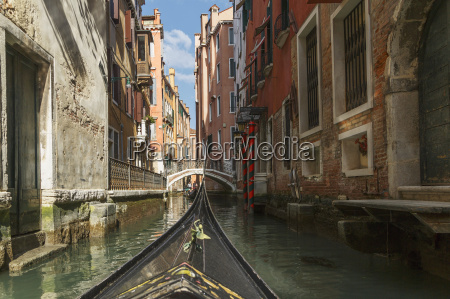 close up of part gondola with