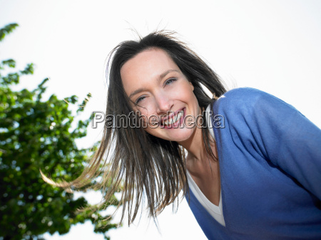 woman smiling portrait