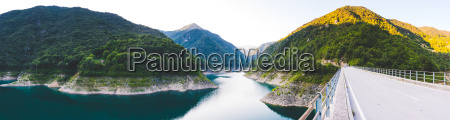 panoramic view of lake garda italy